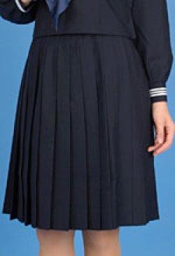 画像2: スクール紺プリーツスカート