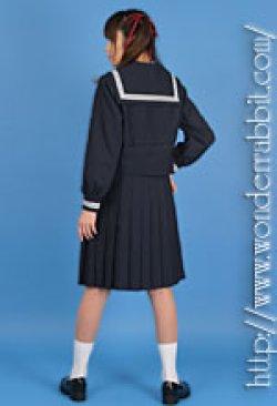 画像3: 冬用セーラー服上下セット