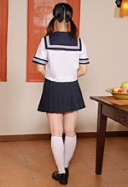 画像3: 夏用セーラー服上下セット(半袖)