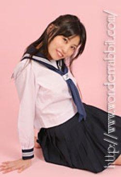 画像4: 夏用セーラー服上下セット(長袖)