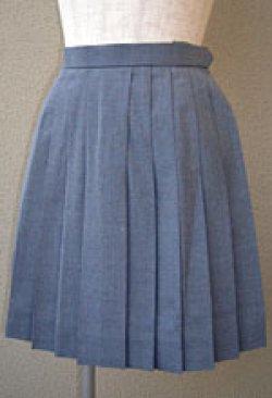 画像1: グレーの夏スカート