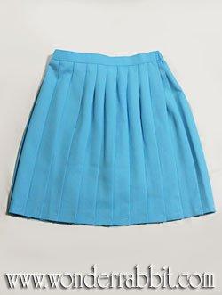 画像2: 無地プリーツスカート